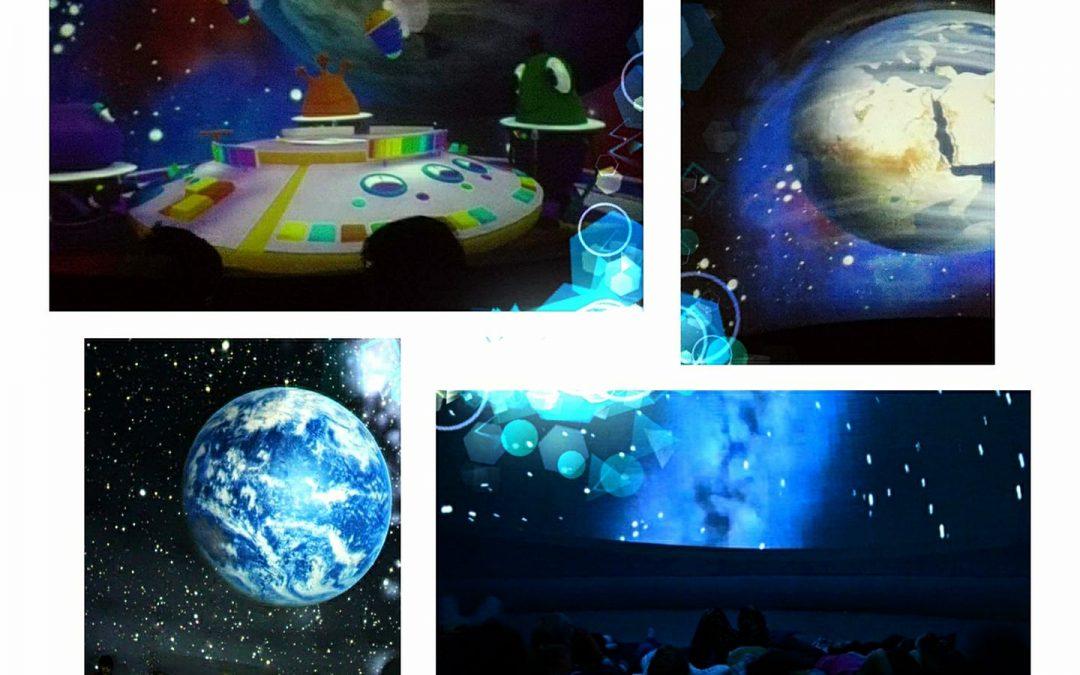 Mobilne planetarium w naszym przedszkolu
